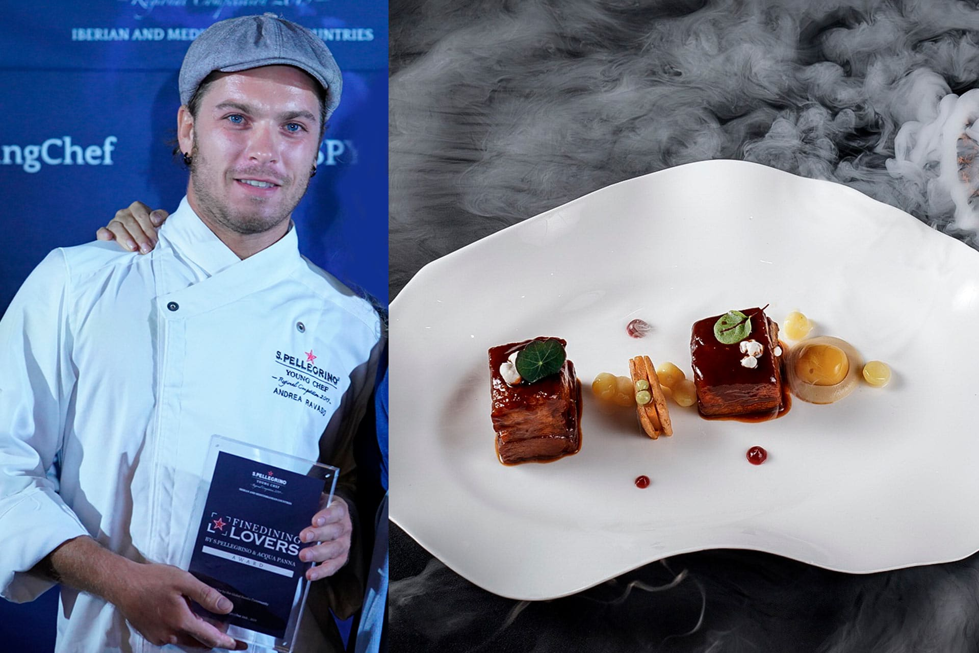 Andrea Ravasio_Fine Dining Lovers Food for Thought Award