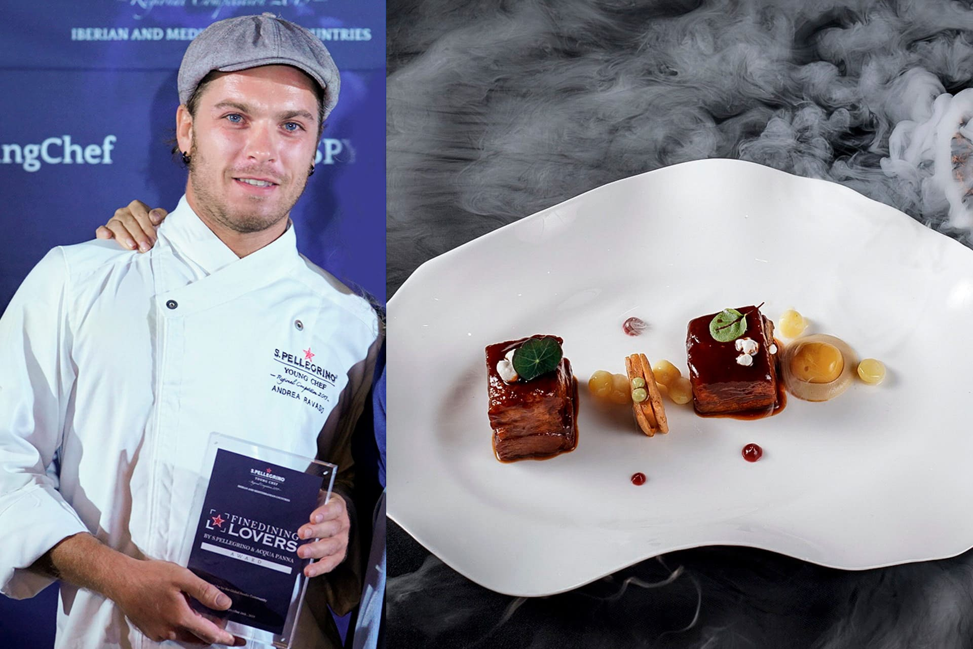 Andrea Ravasio_Fine Dining Lovers Food for Thought Award_SPYC 2019