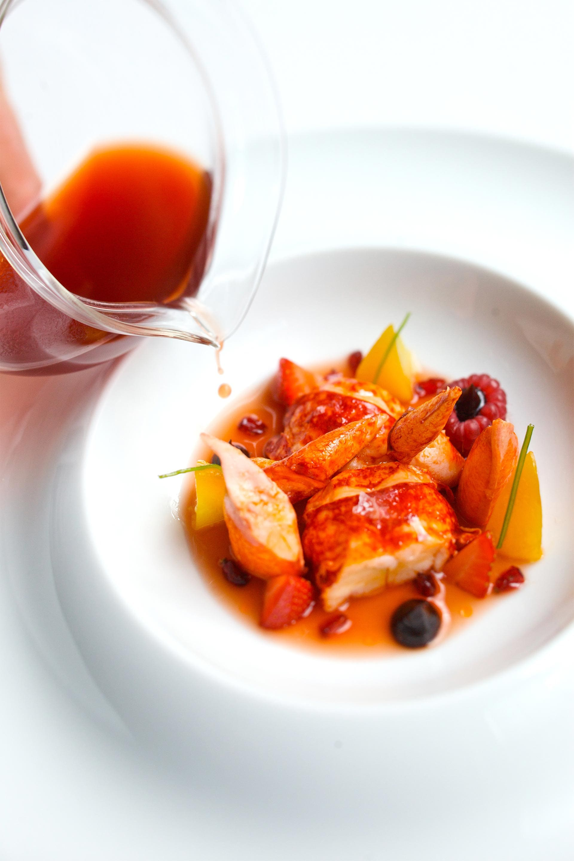 Homard Fruits Rouges ©Jean-Francois-Mallet