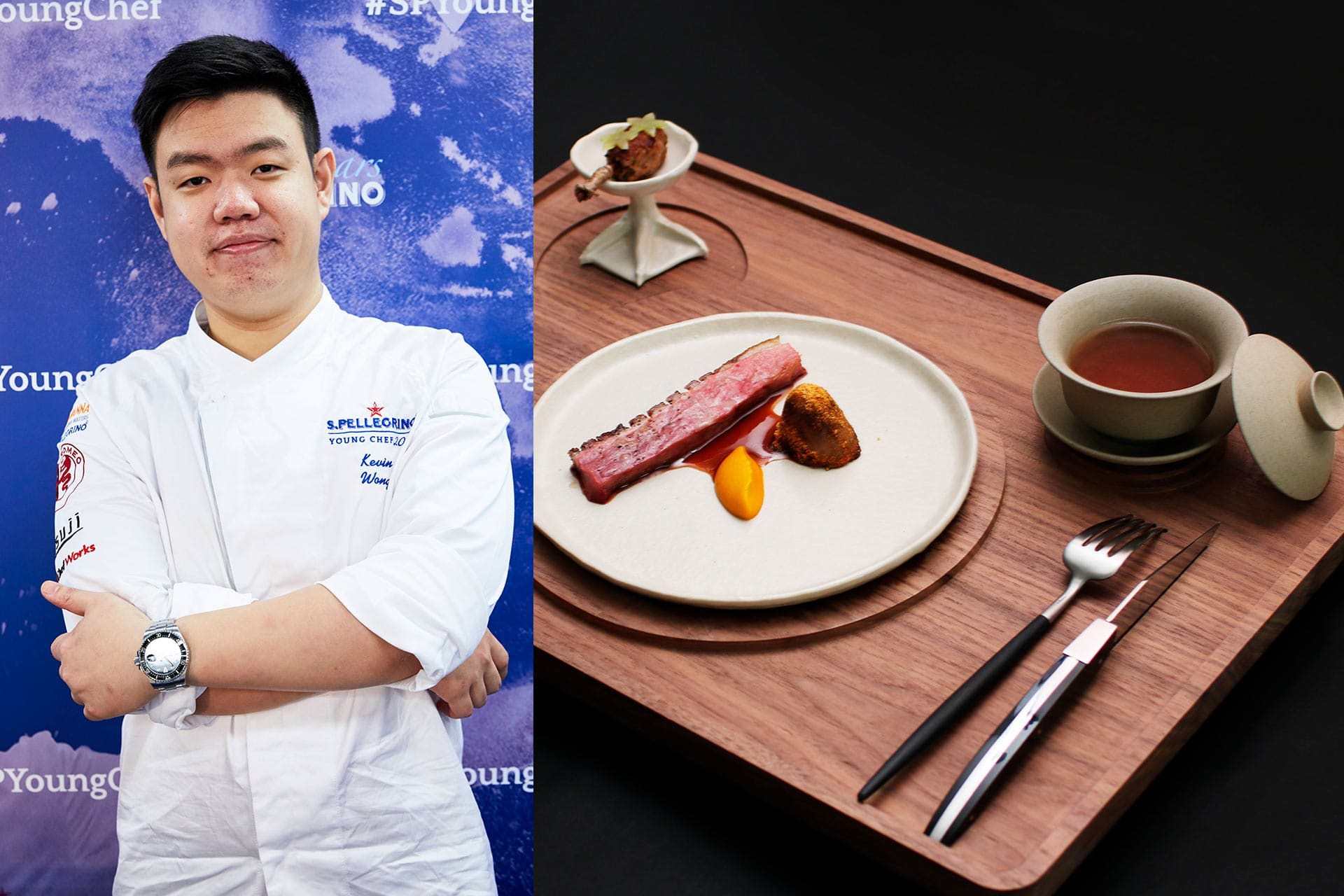 Kevin Wong_S.Pellegrino Young Chef Asia Winner 2019