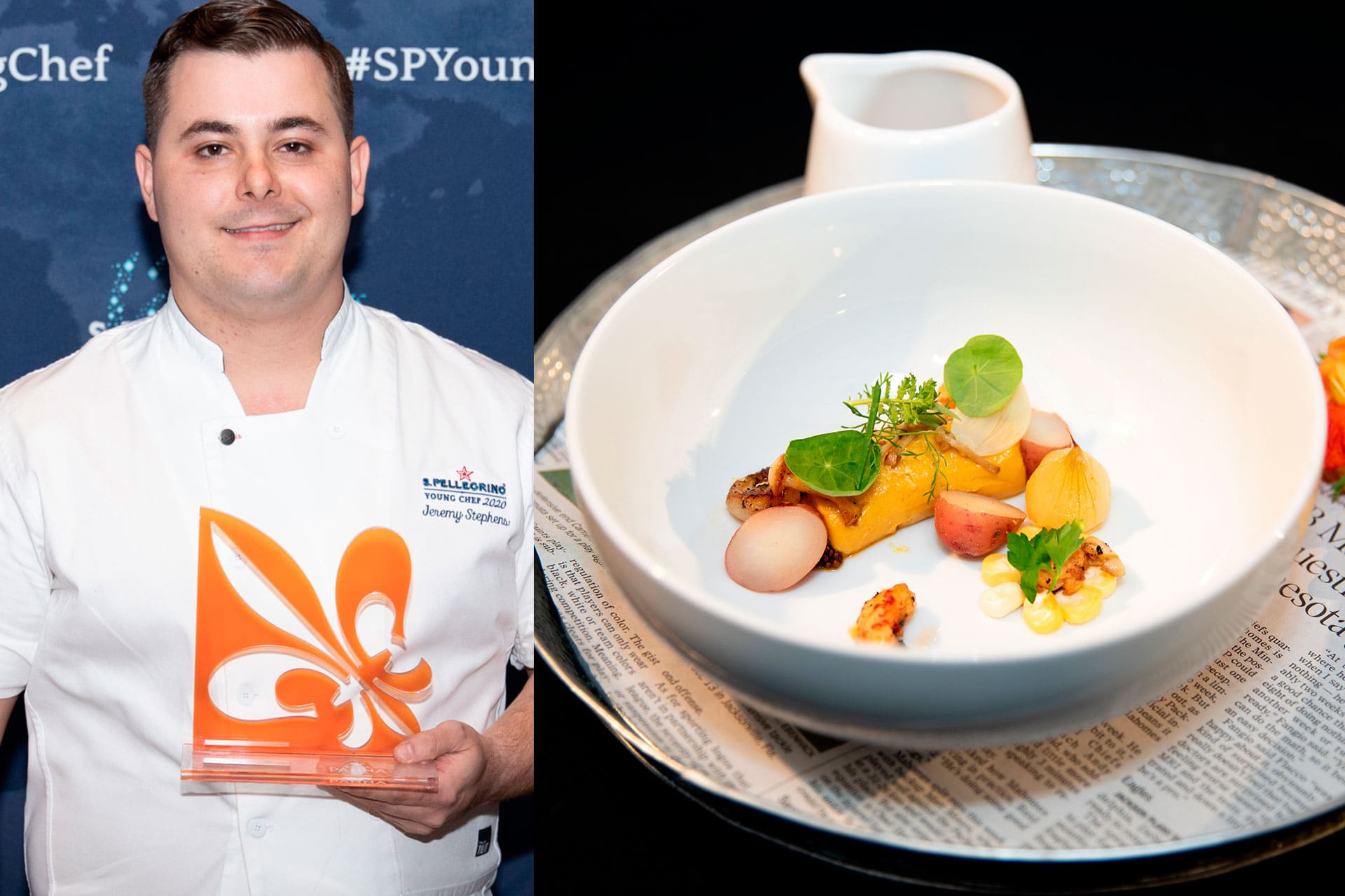 Jeremy Stephens_Acqua Panna Award for Connection in Gastronomy_SPYC 2019