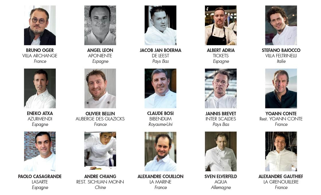 100 best chefs in the world 2020 the full list