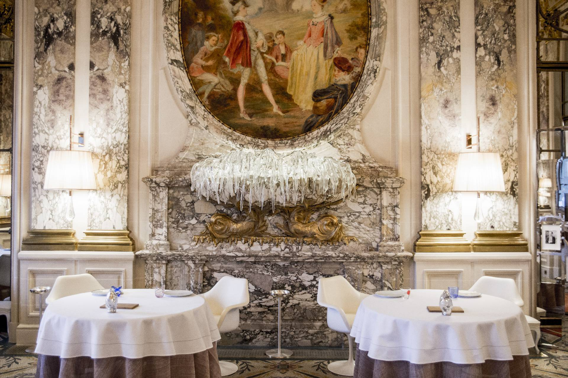 Le Maurice, interiors