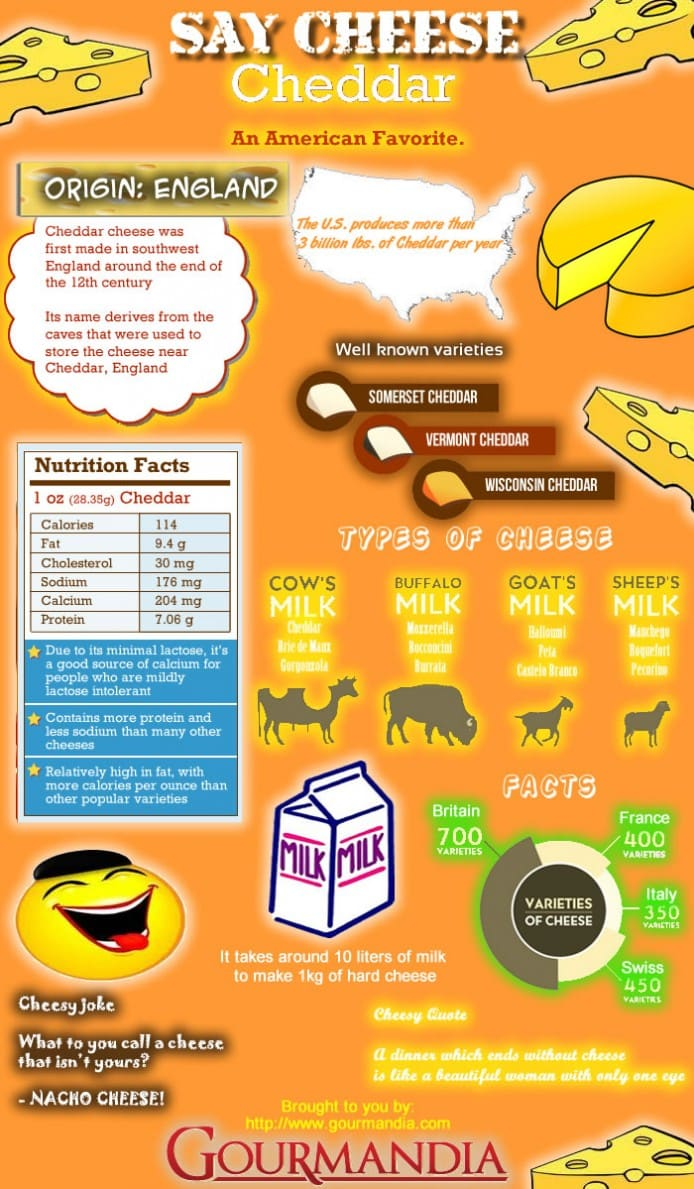 cheddar cheese facts