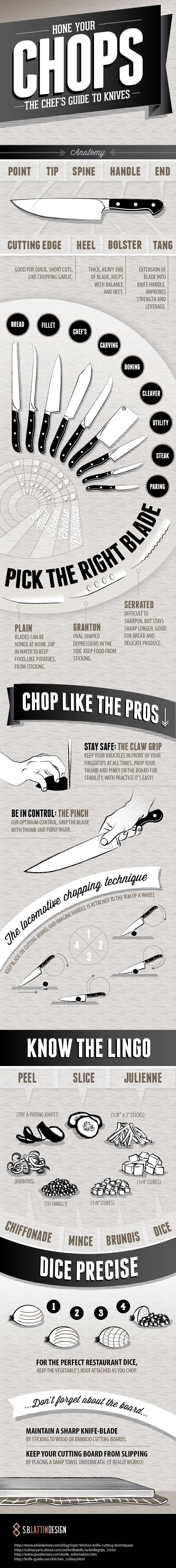 hone your chops the chefs guide to knives