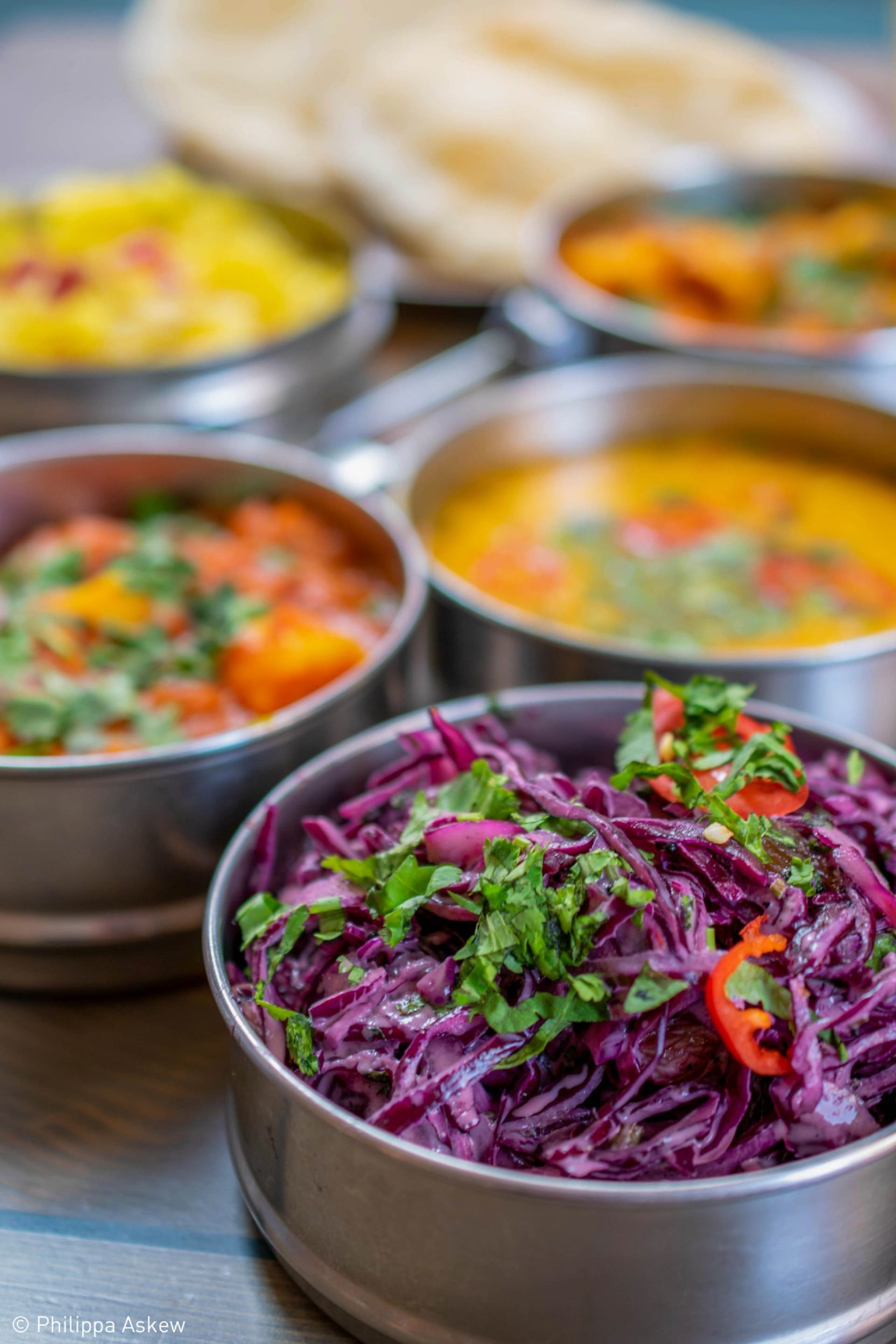 Student Food Photographer of the Year - Curry Banquet by Philippa Askew