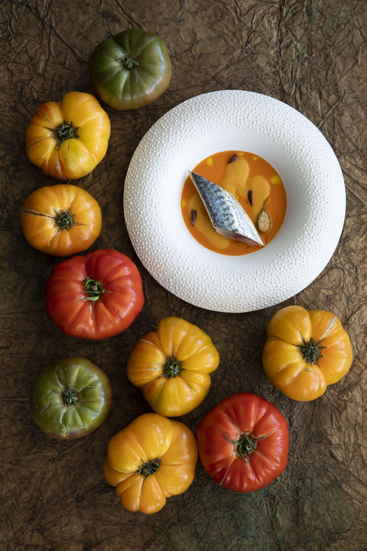 Tomatte, Mirazur Fruits Universe @Matteo Carassale