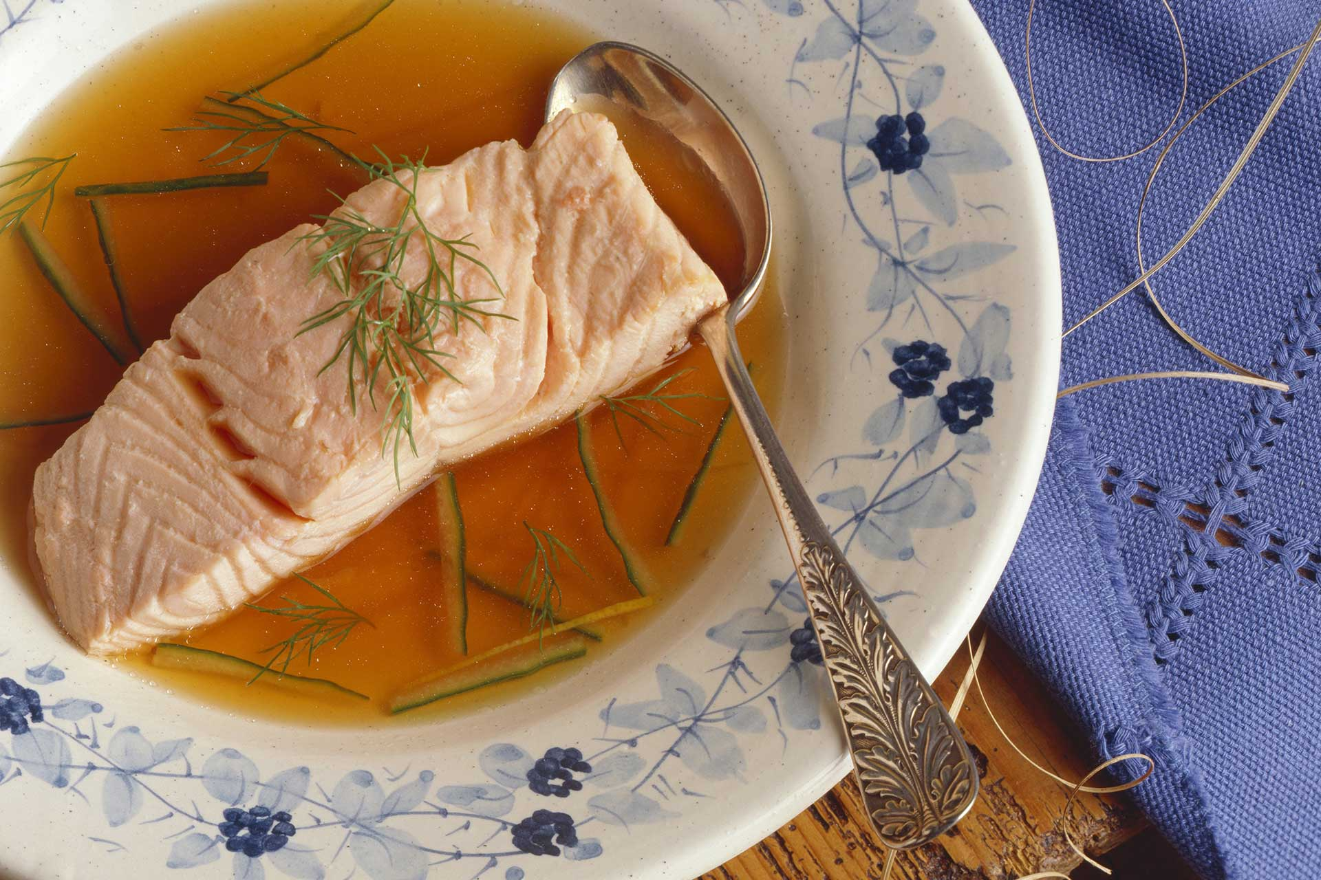 Poached Salmon ©StockFood