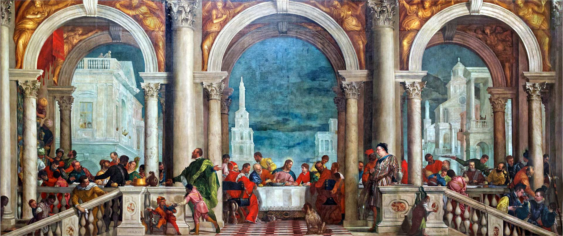 Last Supper Paolo Veronese