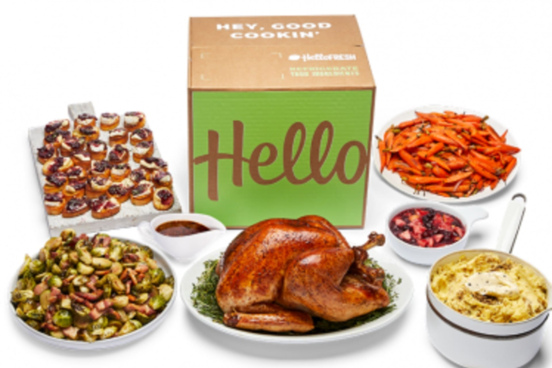 Hello Fresh Christmas Dinner Delivery