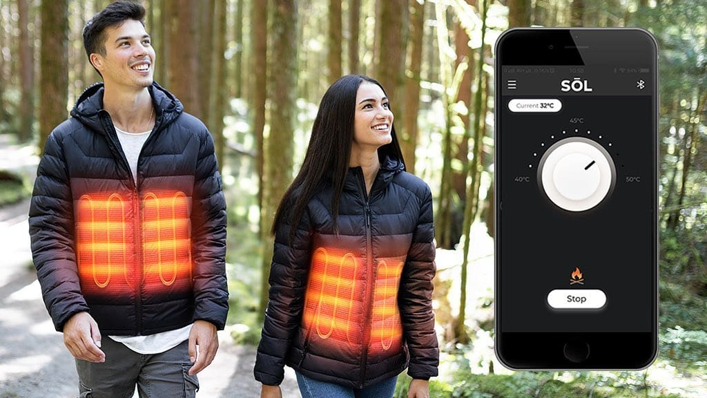 SOL Heated Jacket_outdoor dining solution