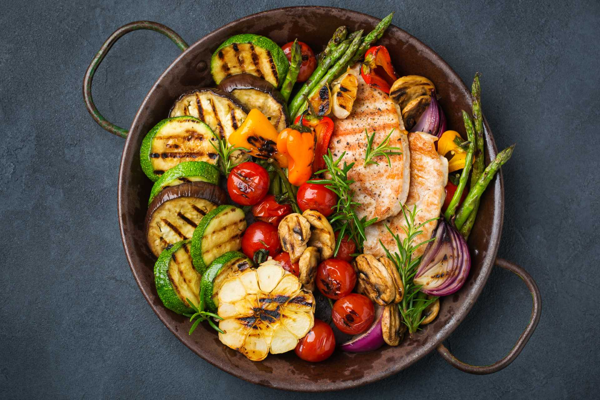 grilled vegetables ©iStock