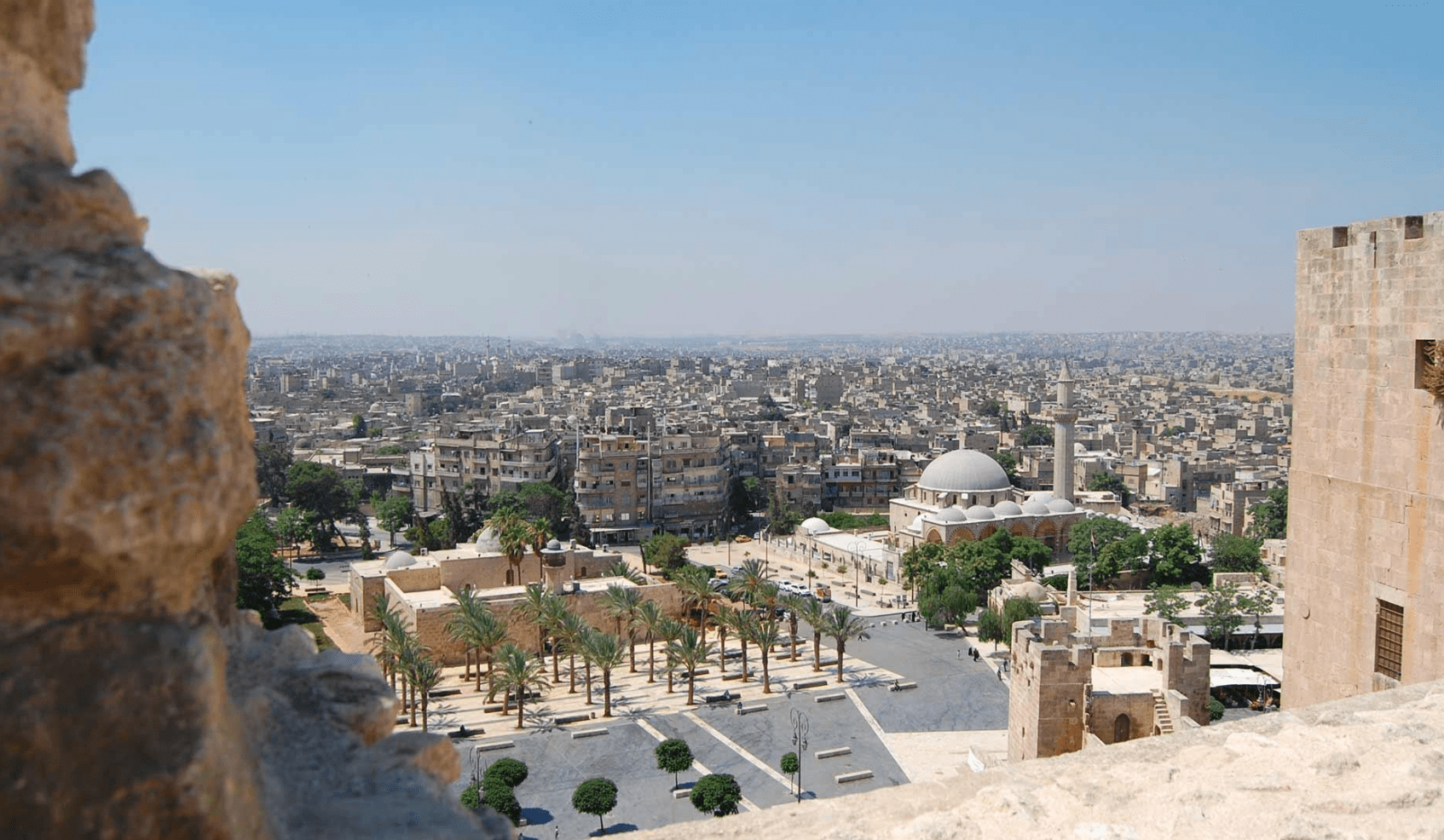 Aleppo View of The City 2010