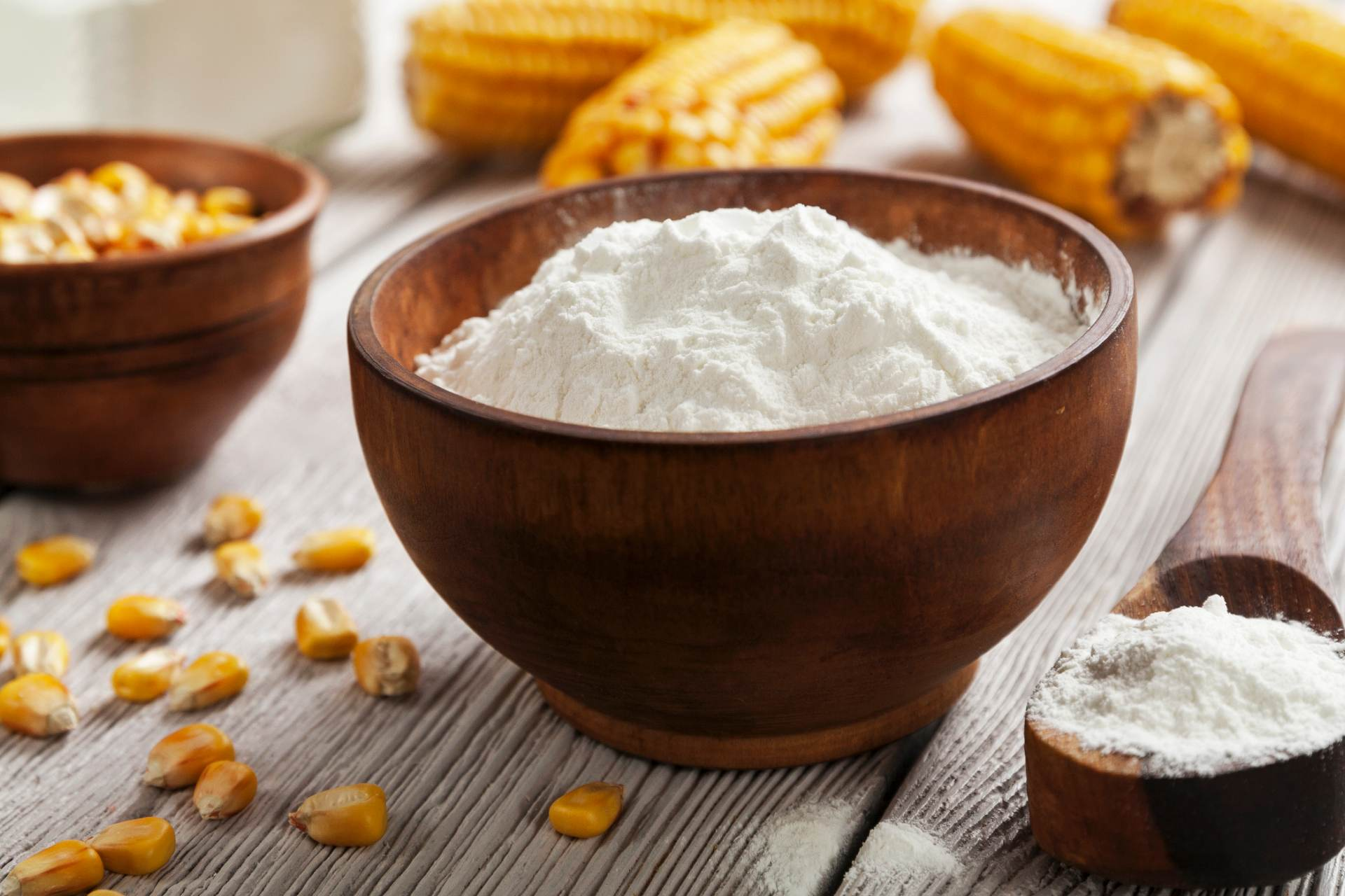 bowl of starch ©iStock