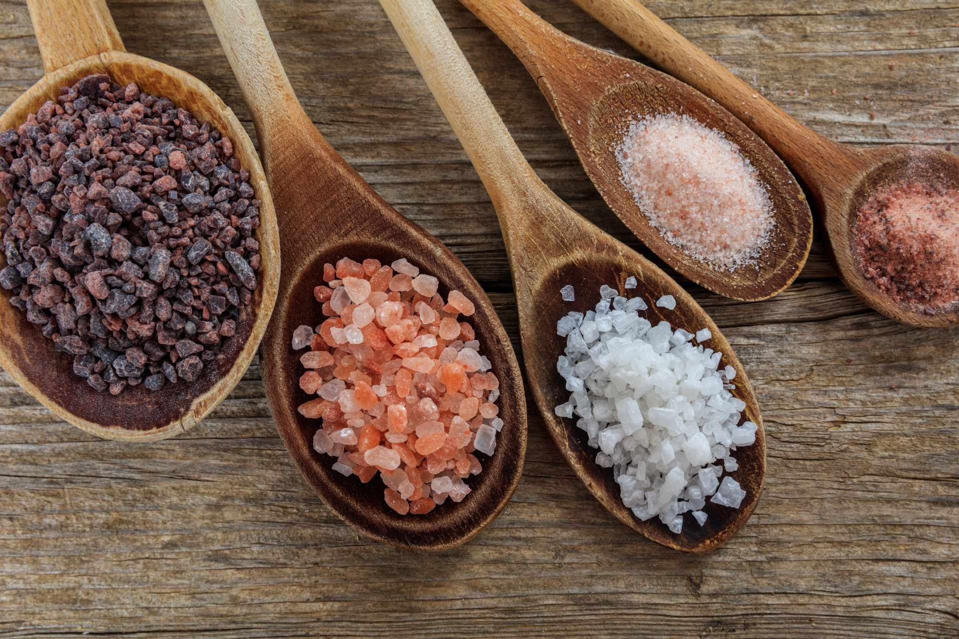 different kinds of salt ©iStock