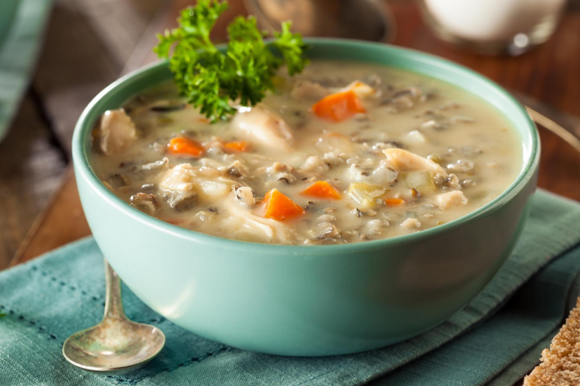 soupe dinde