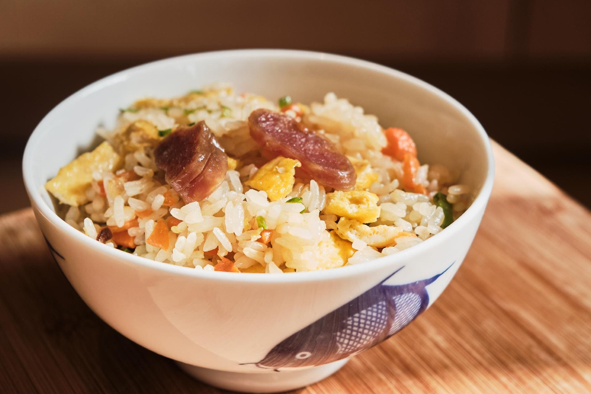 Chinese sausage fried rice ©iStock