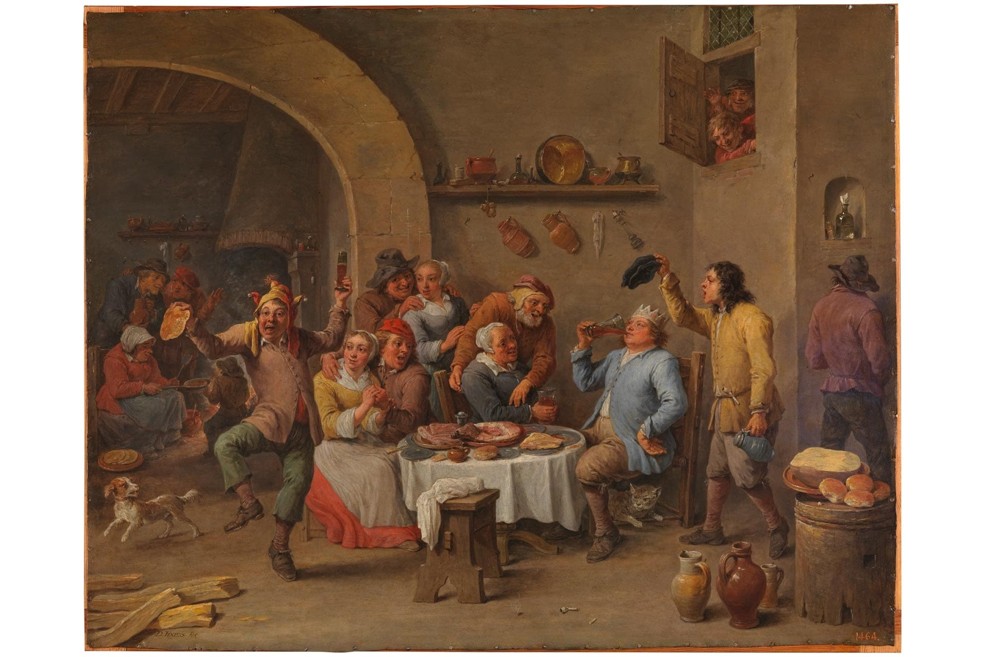 Lord of misrule by David Teniers the Younger