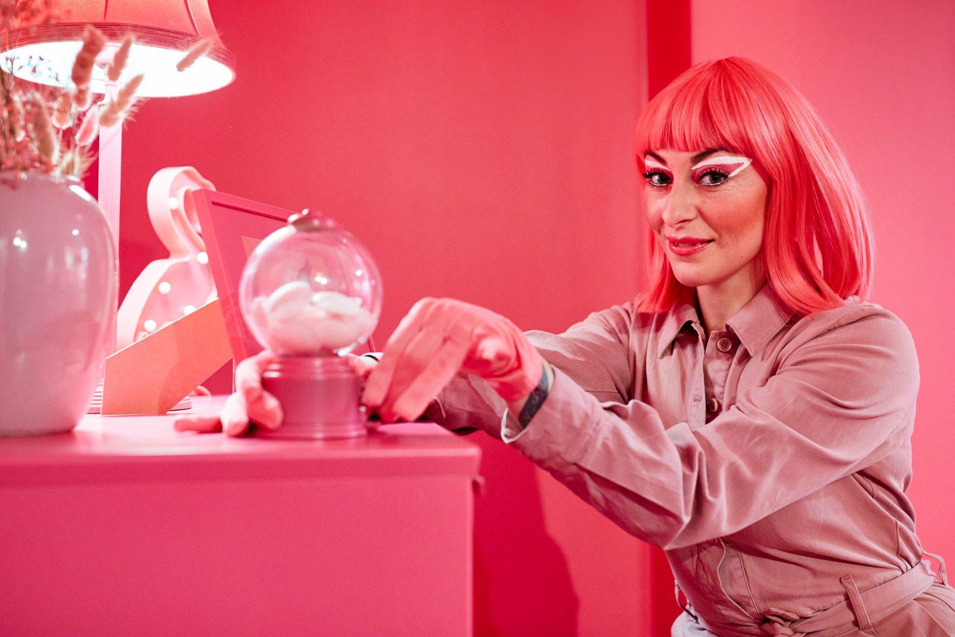 Chambre rose alchimiste