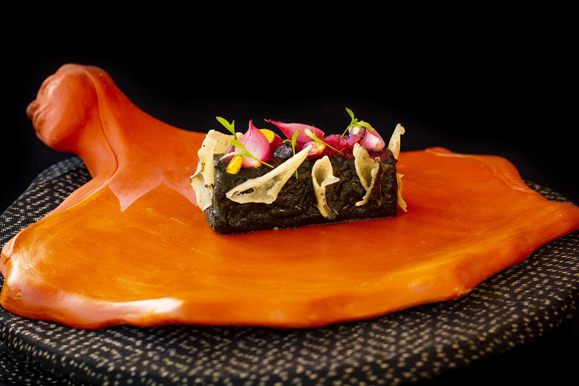 Eliodoro Xicum Coba signature dish