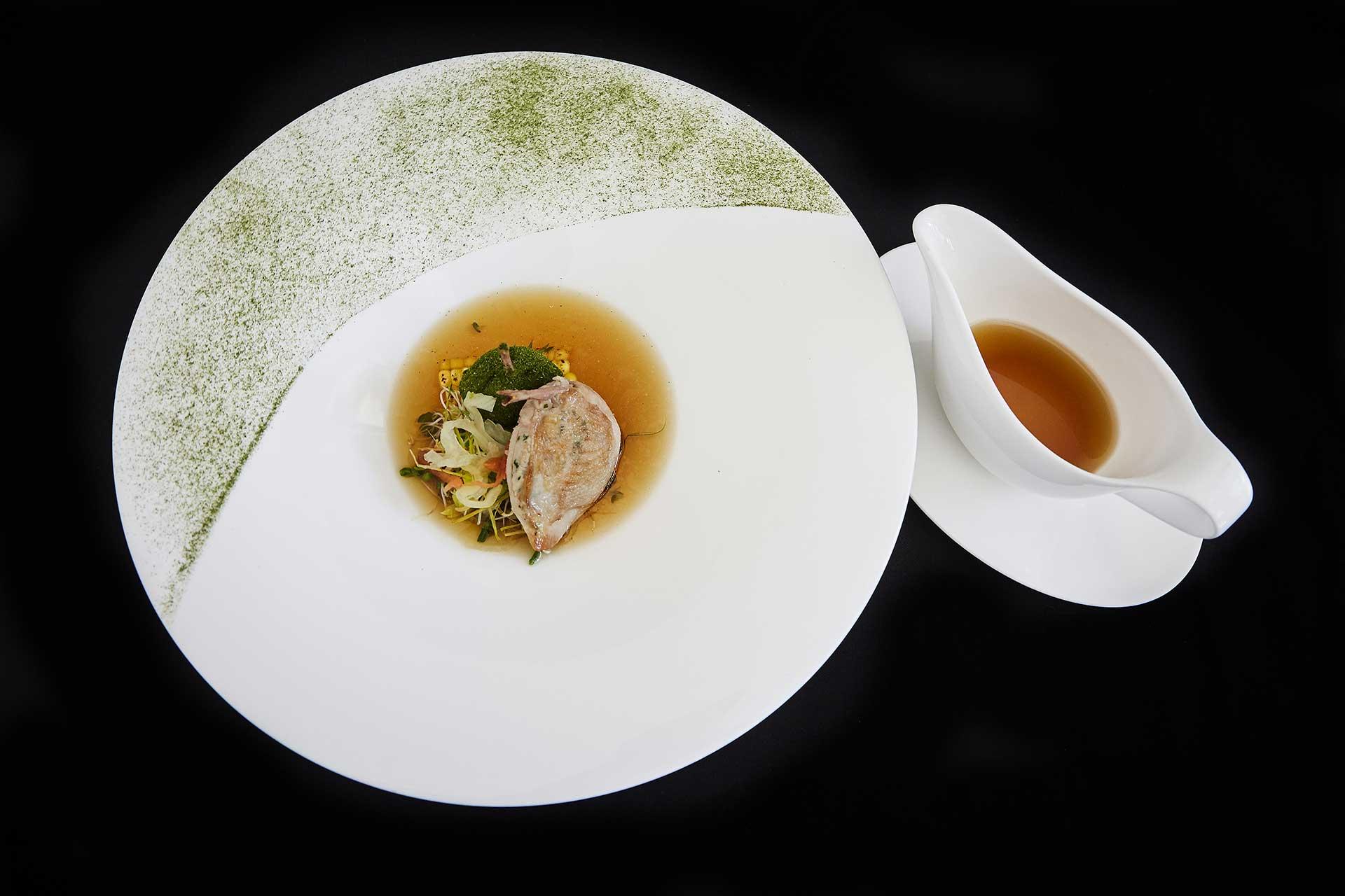 Marcus Gericke signature dish