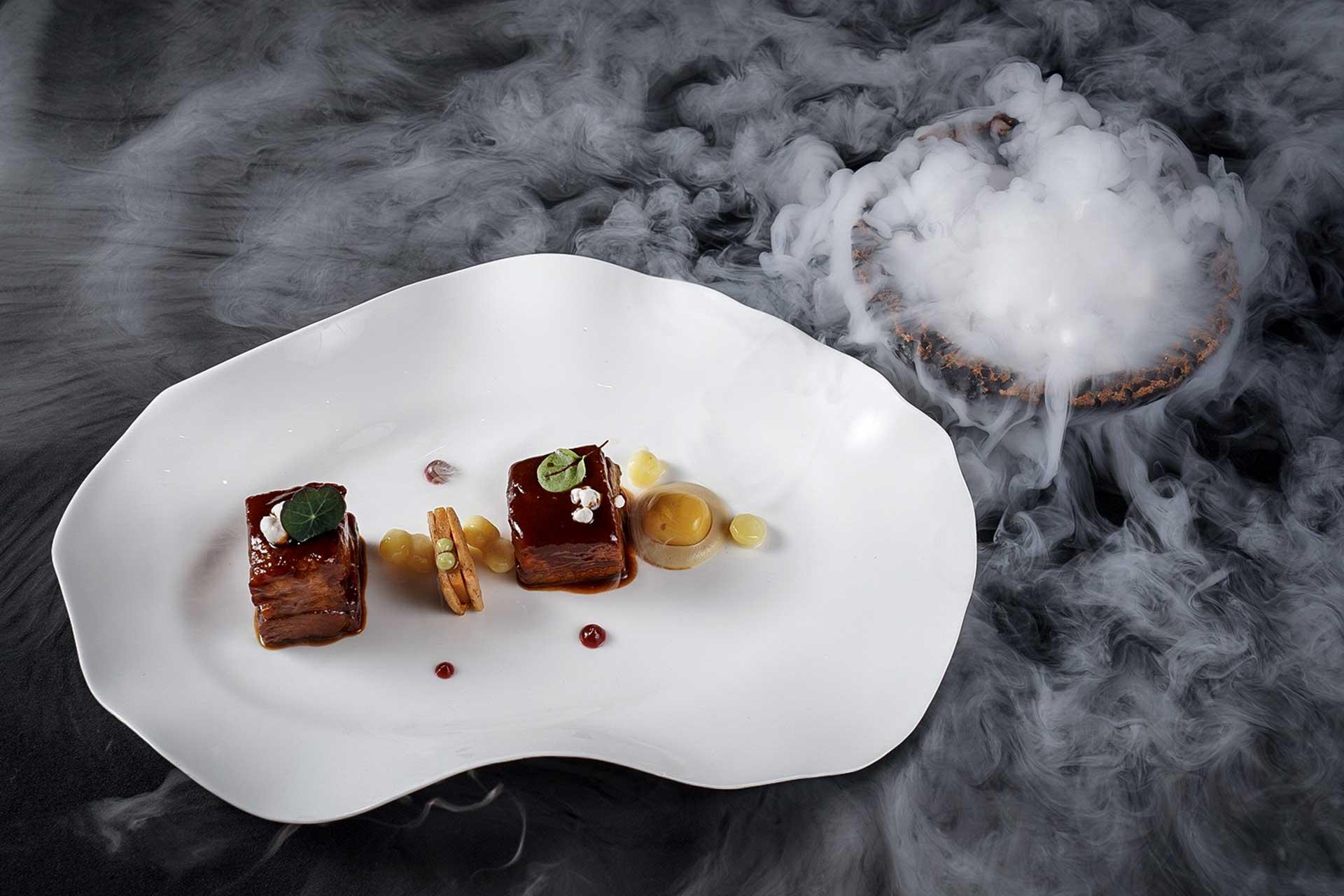 Andrea Ravasio signature dish