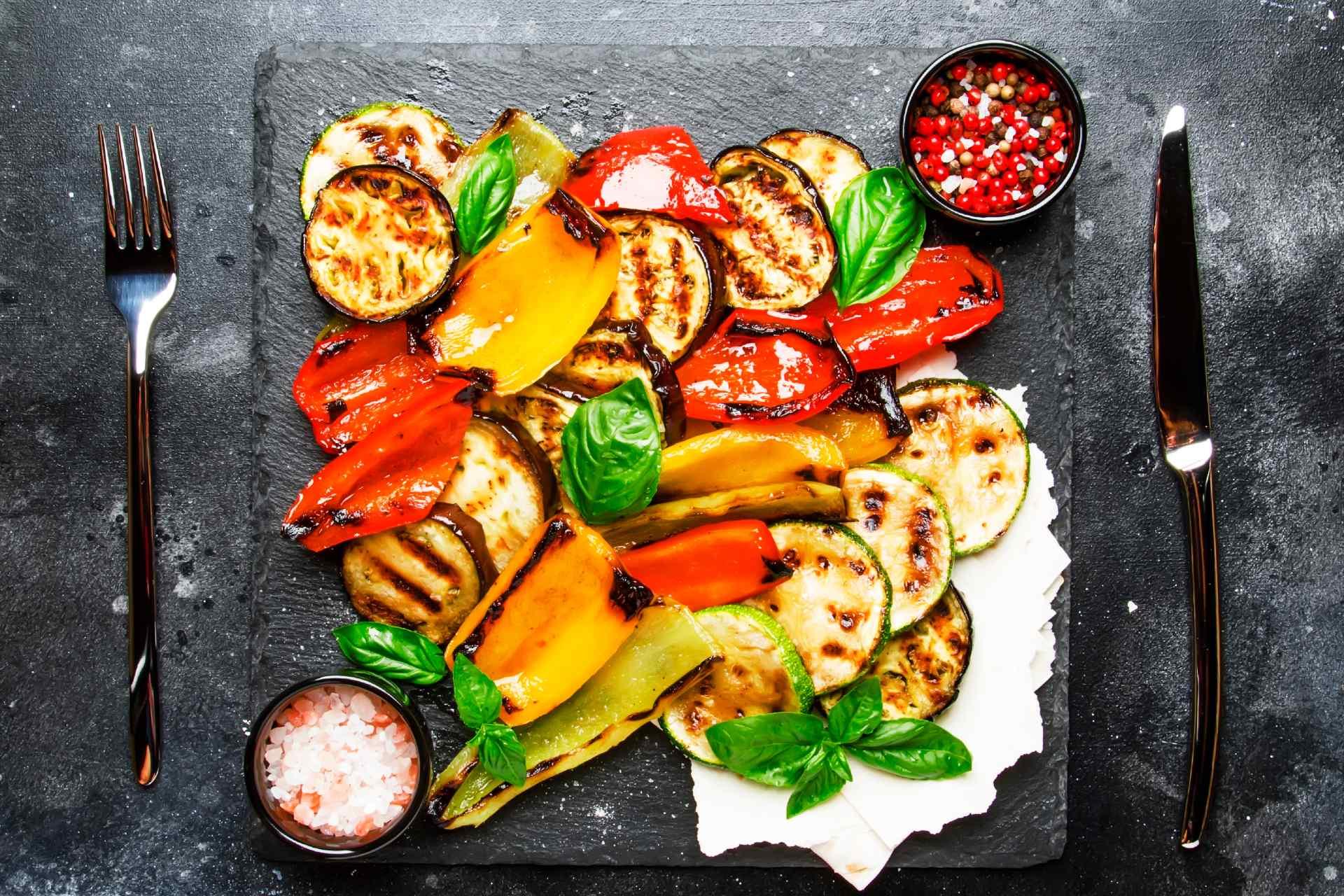 vegetarian-meal-roasted-vegetable-salad