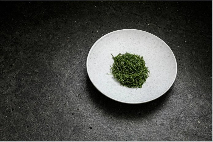 -Christian Puglisi_Lettuce, Smoked Almond and Olive Oil