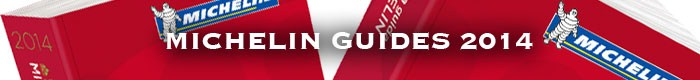 MICHELIN GUIDES 2014
