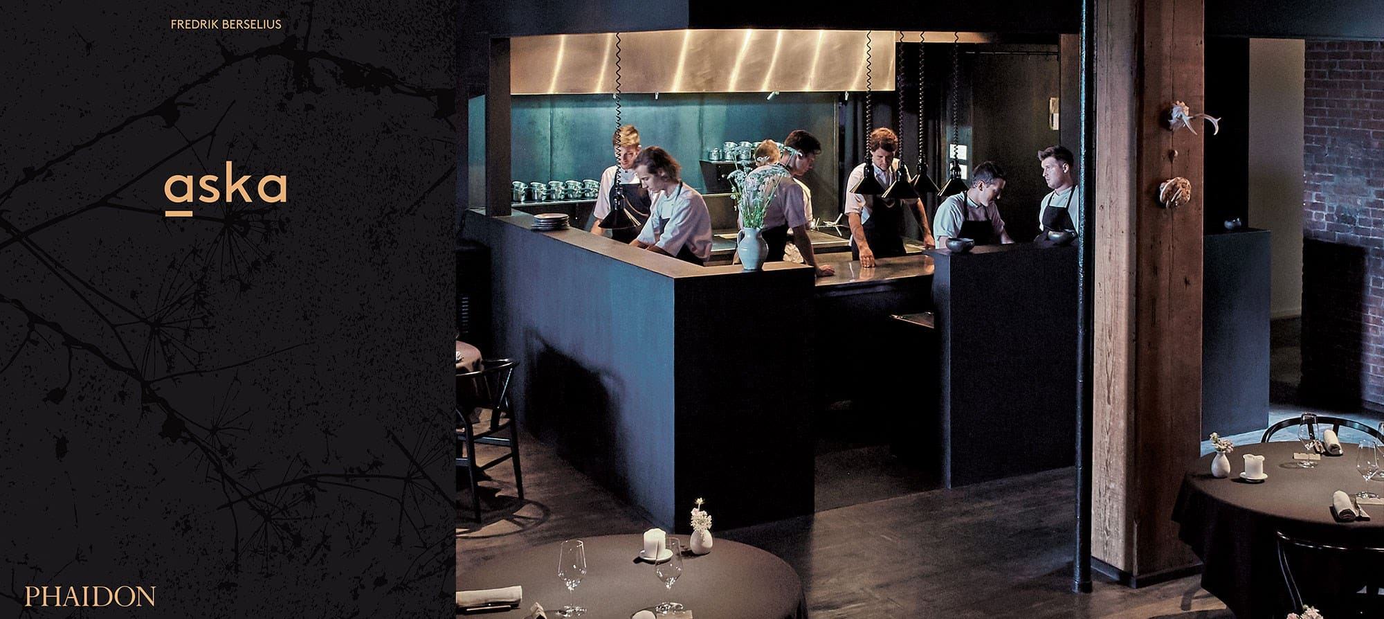 Aska: book and restaurant