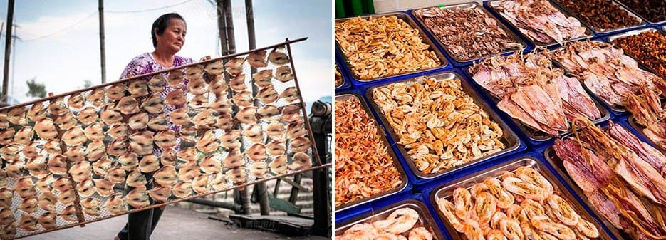 Chinese Dried Seafood | Chinese Dried Fish Dishes