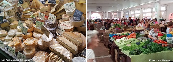 Cannes Food Shopping | Fromager Gourmet, Forville Market