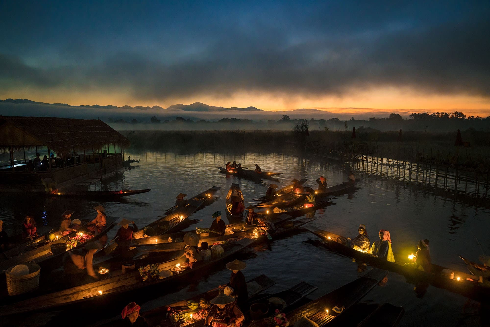 Inle Floating Market | Sony Photography Award 2018