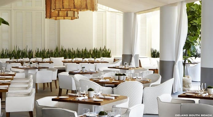 Places to Eat in Miami | Delano South Beach Bianca