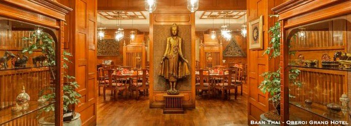 Where to Eat in Kolkata | Baan Thai Oberoi Grand Hotel