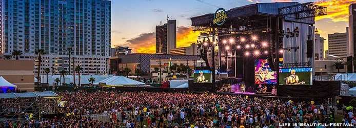Life is Beautiful Festival in Las Vegas