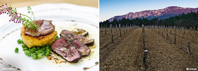 Slovenia Food and Wine | Majerija Burja