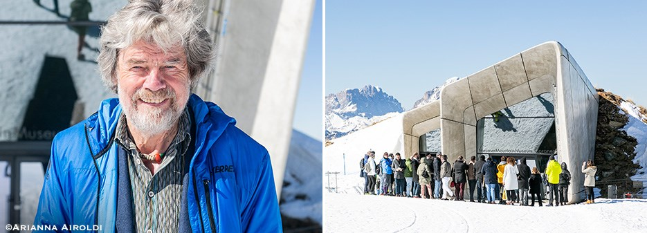 Reinhold Messner at Care's 2019 | Messner Mountain Museum