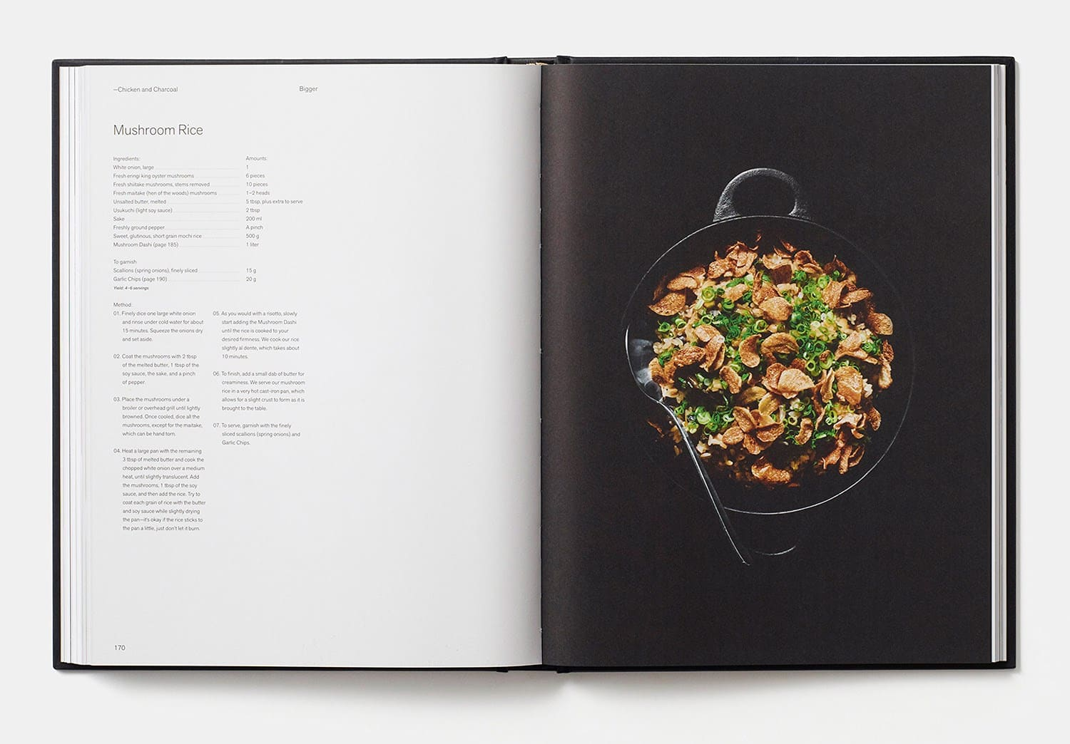 Chicken and Charcoal Book | Mushroom-rice