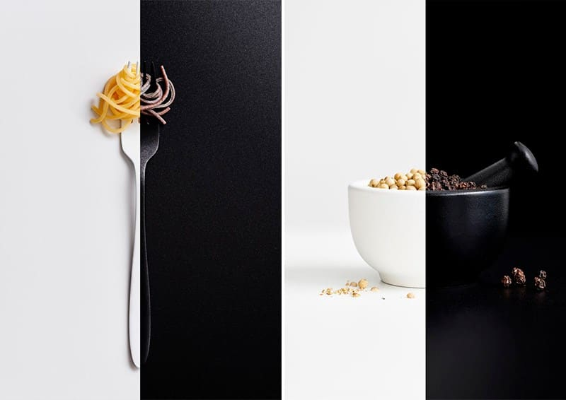 IPA 2018 Gareth Morgans | Ying Yang Black White Food Series