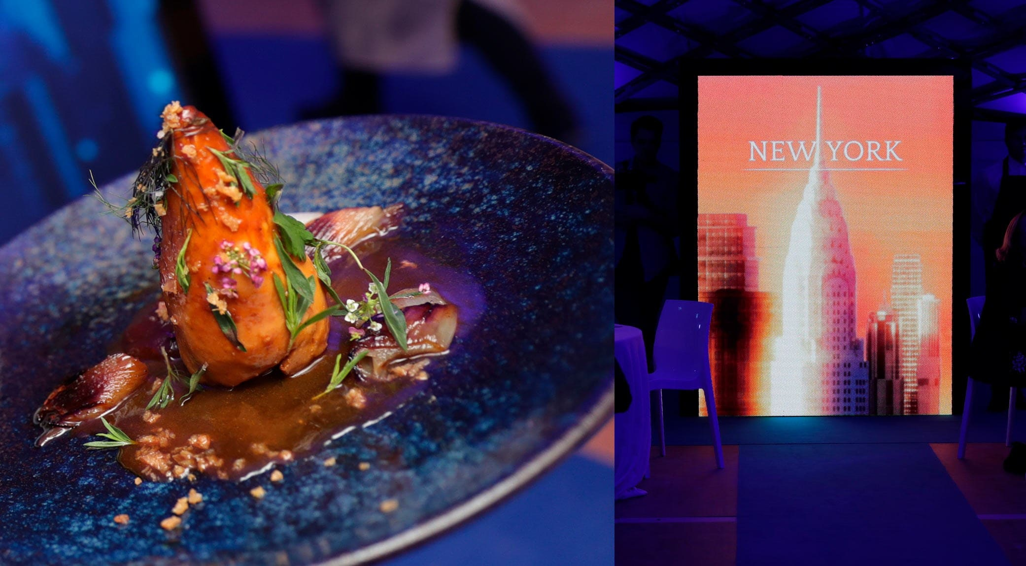 L'Instant Cannes - S.Pellegrino: New York dish