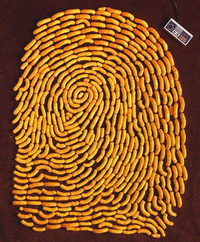 Food Art | Chip Fingertip