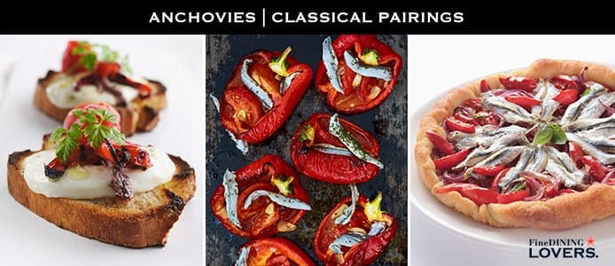 Anchovies: Classical Pairings