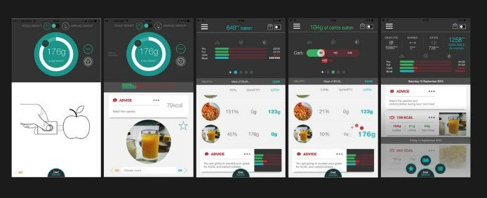 App Screenshots_Diet Sensor