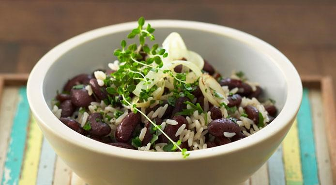 Basmati Rice with Beans