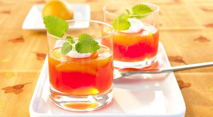 Blood Orange Prosecco Jelly