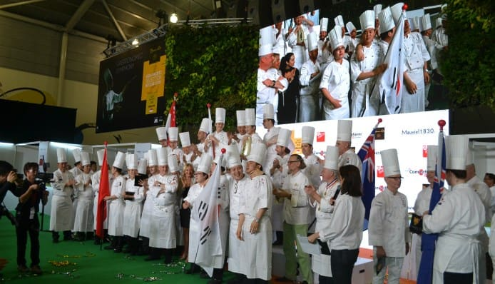 Bocuse D'Or Asia Pacific_winners on stage