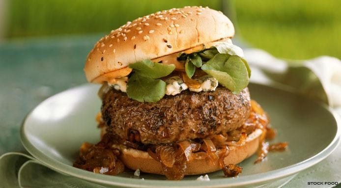 Burger Blue Cheese