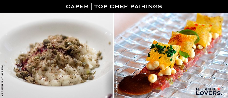 Capers' chef-pairings: Massimiliano Alajmo | Roca Brothers
