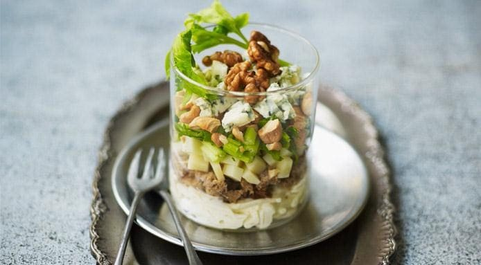 Celeriac and Cheese Salad